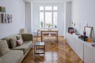 Vivienda zona plaza de olavide nim estudio de dise o e - Estudios de interiorismo madrid ...