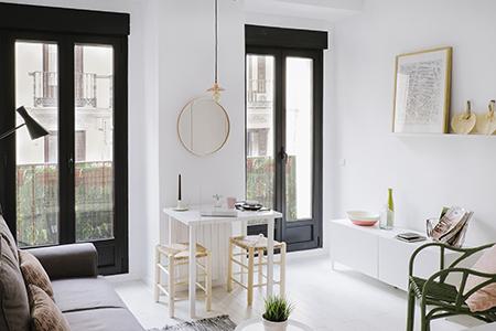 Apartamento vacacional zona malasa a madrid nim for Estudios de interiorismo madrid